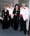 (L toR) KlOL President, Richard Pugs, his Lady, 07 PP Butch Correll, his Lady welcome guests.