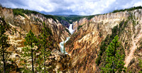 Yellowstone Park Water Falls