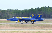 Blue Angels Practice