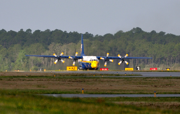 Fat Albert take-off sequence