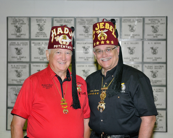 Imperial Potentate Visit to Hadji, 7/11