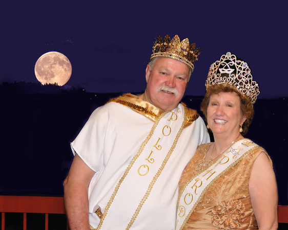 2011 Aphrodite and Apollo, Peggy Pilcher and Jim Keyes