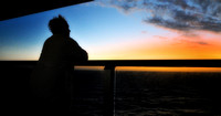 Early morning at sea, 10/26/2010