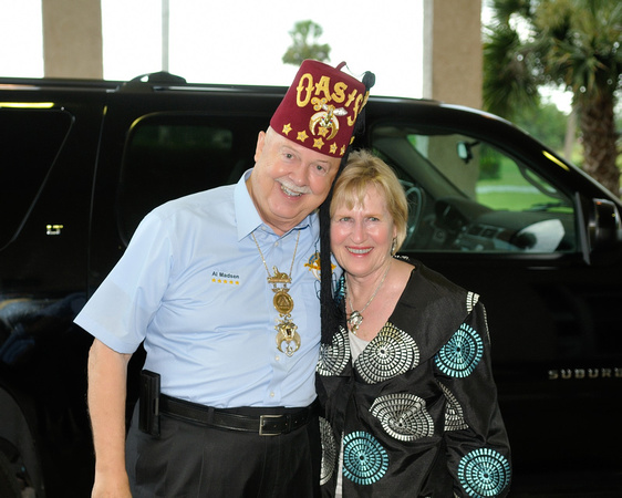 Imperial Potentate's Visit